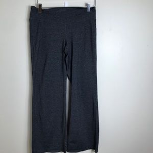 ATHLETA Fusion Yoga Pant Wide Leg Flap Pocket 2104